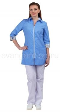 Блуза летняя женская Далия (с 80-84 по 120-124; 158-164, 170-176)