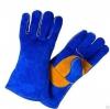 Краги спилковые Blue Welder